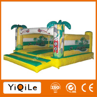 kids jumping toys mini bouncy castle, jungle bouncer for the inflatables