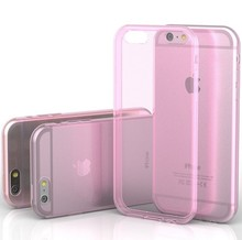 """0.3 mm Ultra Thin Slim Crystal Clear Transparent Soft Silicone TPU Phone case for Iphone 6 4.7"""""""