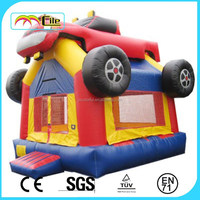 CILE High Quality Backyard Bouncy Castle Inflatables Truck Castle Jumper for Kids