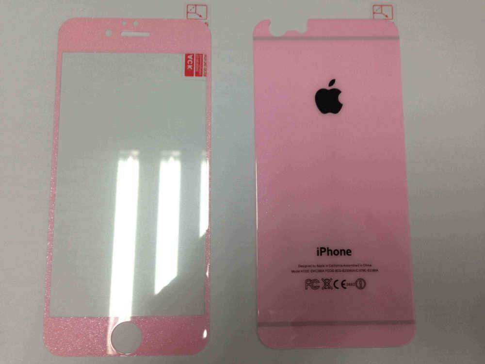 2016 newest molds , high quality printed screen protector