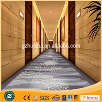 100% Nylon Printed Modern Design Hotel Corridor Carpet