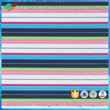 blue red and white stripe knitted fabric