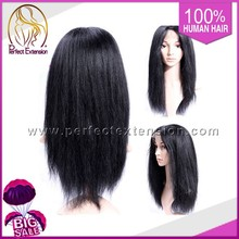 26Inch 613# Afro Baby Hair Full Lace Long Wigs For White Women