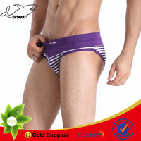 Personalized lingerie fashion strip underwear male sexy cotton briefs
