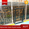 Afghanistan black & gold marble stone price