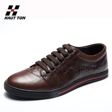 Hautton wholesale man business genuine leather shoes