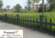PE plastic garden fence panels