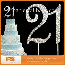 Wholesale Crystal Rhinestone Wedding Cake Topper Stand For Wedding table centerpieces Gay party decoration