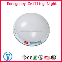 Fire resistant 110V 220V rechargeable automatic emergency ceiling light