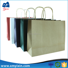 High Quality Customized White, Brown, Black Kraft Paper Bag with Wholesale