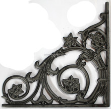 New style wrought solid iron forged handrails indoor stairs