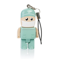 Custom plastic doctor usb thumb drive 8gb
