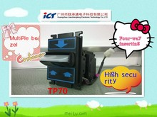 vending machine bill acceptor of ICT TP70 with high security advantages