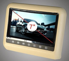 "Car Headrest Monitor 7"" Color TFT LCD car rearview monitor"