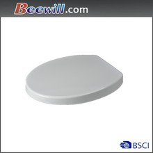 Urea toilet seat with soft close dampers