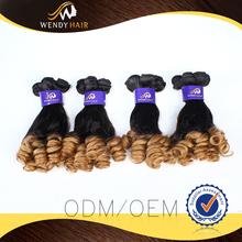 2015 Promotion FUMI HAIR curly malaysian hair weft