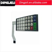Best Quality Custom Control Keyboard Transparent LCD Display