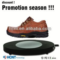new invention ! magnetic levitating led display stand for shoe woman,hmong shoes