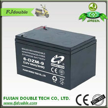 Quick charge real capacity 12v 9ah rechargeable battery for scooters