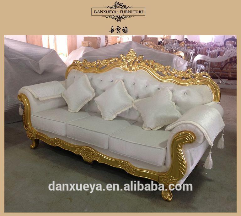 Living Room Velvet Fabric Egyptian Furniture Dxy 3048