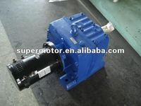 CE approved 5Kw 72V 1500rpm DC motor for railway vehicle