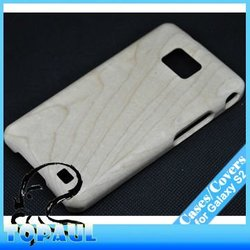 New Product Natural Bamboo Case For Samsung i9100 Galaxy S2 i91032