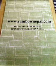 Nepal Hand Knotted Allo, Silk, Wool Carpet Rug 300x400cm