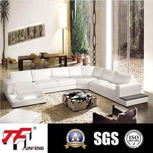2015 Popular Italian Leather Sofa Jfu-8