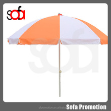 2015 promotion cheap beach parasol for adversting