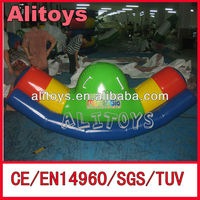 funny inflatable water teeter totter toys for the lake