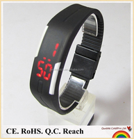 2015 new fashion hot sale silicone wrist kids led watches wholesale