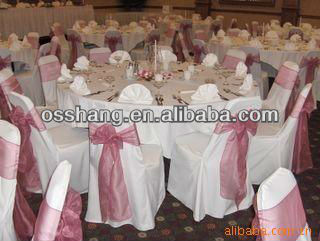 High quality and low price spun polyester table cloth for wedding banquet and hetel