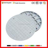 Anti theft square decorative manhole cover from China