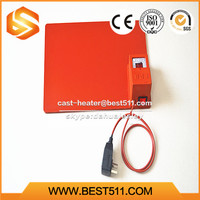 Customized silicone flexible rubber heater