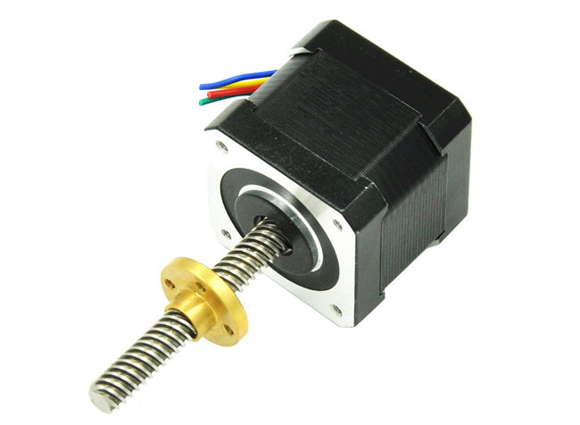 Hybrid linear actuator stepper motors from chengdu fuyu Servo motor linear actuator