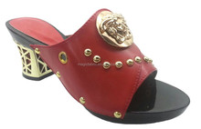 2015 wholesale italian matching shoes and bags high heel sandals for ladies