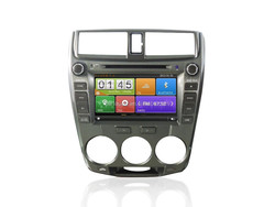 touch screen car dvd player with gps for Honda City GPS navigation system