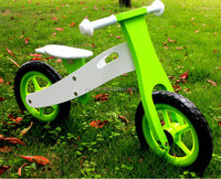 Newest Hot sales wooden balance bikes for toddlers