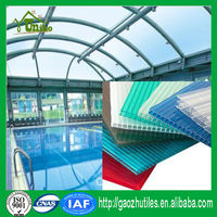 Hollow polycarbonate sheets/sabic polycarbonate hollow sheet/pc multi-wall sheets
