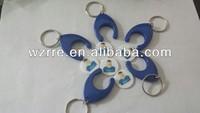 promotional custom key chain coin holder