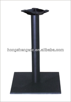 Hot sale Good Quality Steady Square Coffee Dining Cast Iron Table Base Metal Table Leg Furniture Leg HS-A059