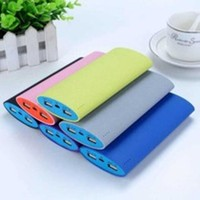 Powerbank 2015!Super Slim 10000mAh Power Bank For iPhone All Smartphone And Tablet ,mobile charger MPB-049