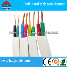 BVVB twin flat cable, electrical wire