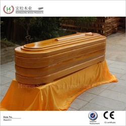 burial above ground wood pet caskets
