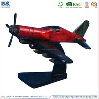 Made in china airplane model wood toy airplane