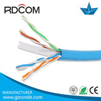 4.f/utp cat-6 cable best price 4 pairs ,cca,ccu,24awg,made in china