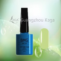 Empty Bottle with natural color gel polish