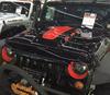 New Jeep Wrangler JK Bonnet Steel Bonnet And Carbon Fiber Vents Wrangler Accessories