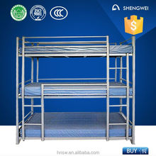 3 person use horizontal folding bunk wall bed from professional manufacture