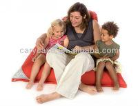 anywhere-at-home bean bag chair,Sit On It Tryangle XL beanbag cushion